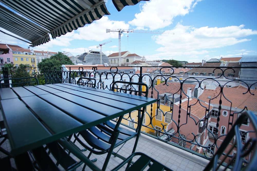 Apartment, Balkon, Flussblick (Rua da Emenda, 38) - Balkon