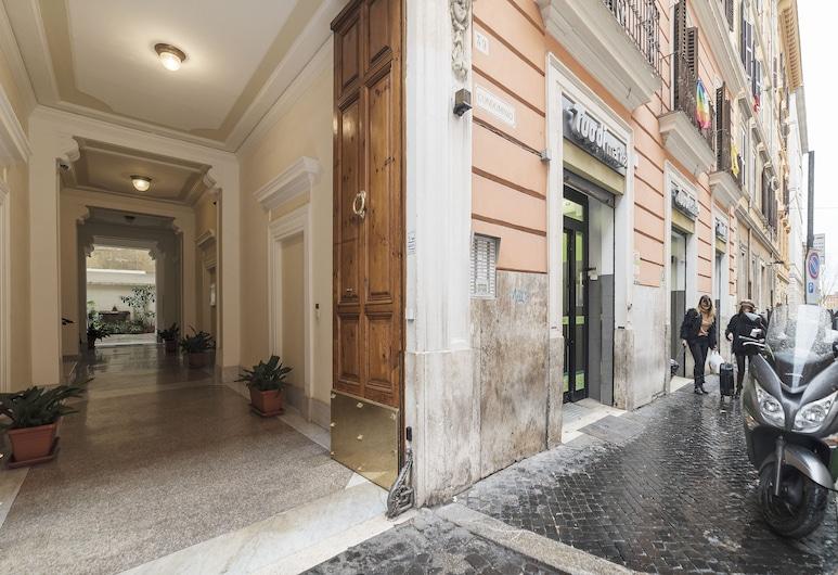 維托里奧艾曼努樂和競技場開放式客房酒店, 羅馬, 住宿入口