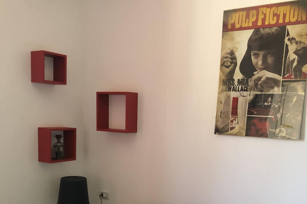 Išskirtinio dizaino butas, 1 miegamasis - Svetainės zona