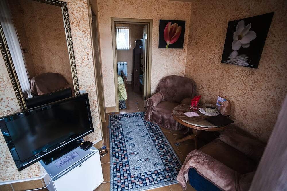 Comfort-Doppelzimmer - Wohnzimmer