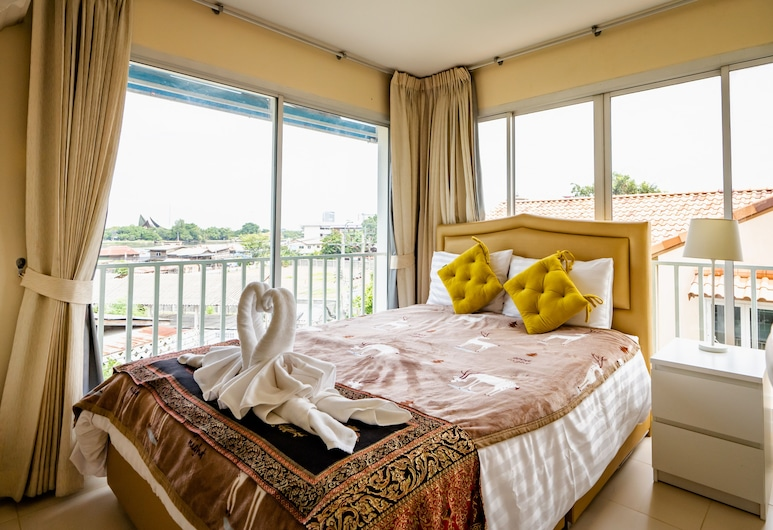 Baan Anodat, Nonthaburi, Deluxe-dobbeltværelse, Udsigt fra værelset