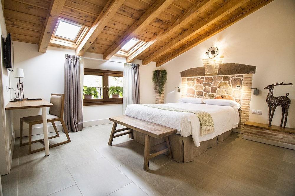 Ateliérové apartmá, 4 ložnice, výhled na hory - Pokoj