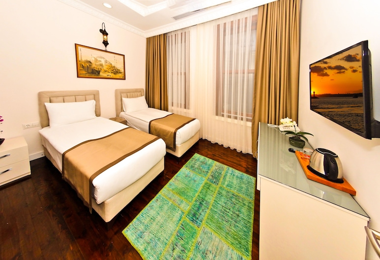 Nusret Bey Hotel, İstanbul, Standard İki Ayrı Yataklı Oda, Oda