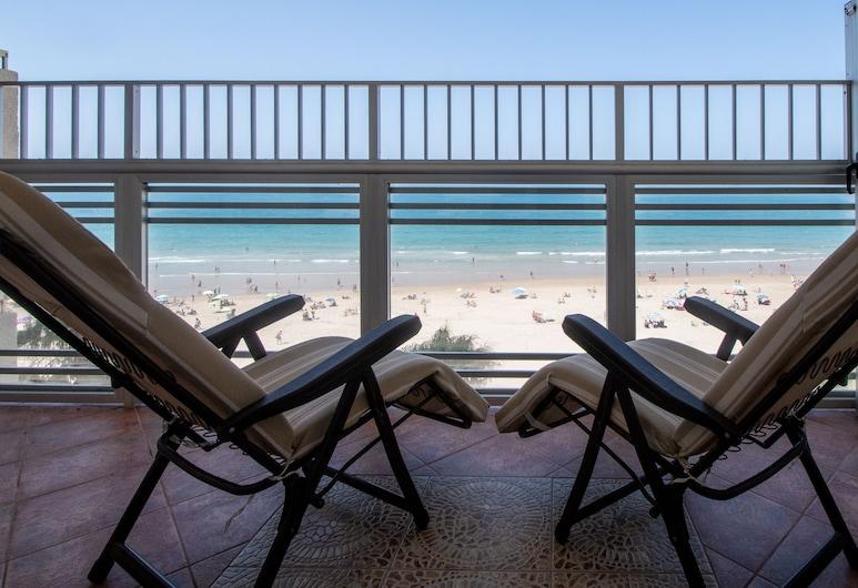 Apartamento Paseo Maritimo 27, Cadiz, Pagerinto tipo apartamentai, 3 miegamieji, vaizdas į paplūdimį, Terasa / vidinis kiemas