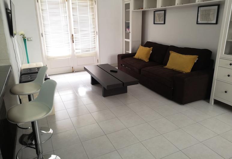 Arrecife Center Plazuela, Arrecife, Apartment, 1 Bedroom, Terrace, Living Room