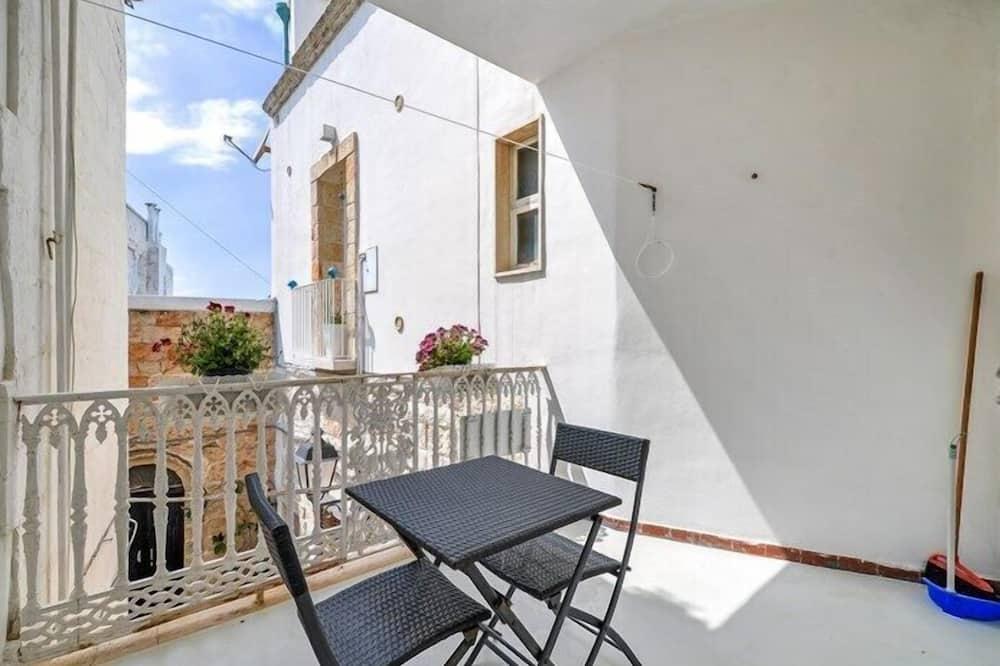 Suite Basic, 1 kamar tidur, pemandangan kota (Azzurra) - Balkon