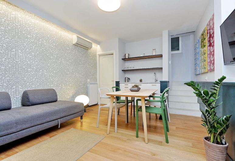 舒適維多莉亞柯洛納酒店, 羅馬, 標準複式房屋, 1 間臥室, 客廳
