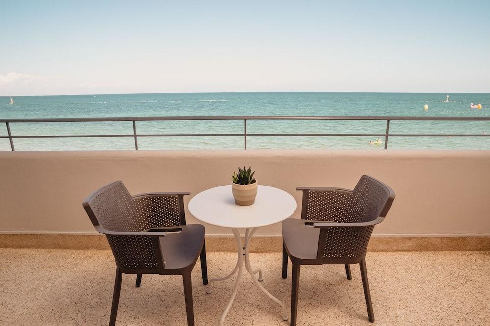 Pamatklases divvietīgs numurs, skats uz jūru - Balkons