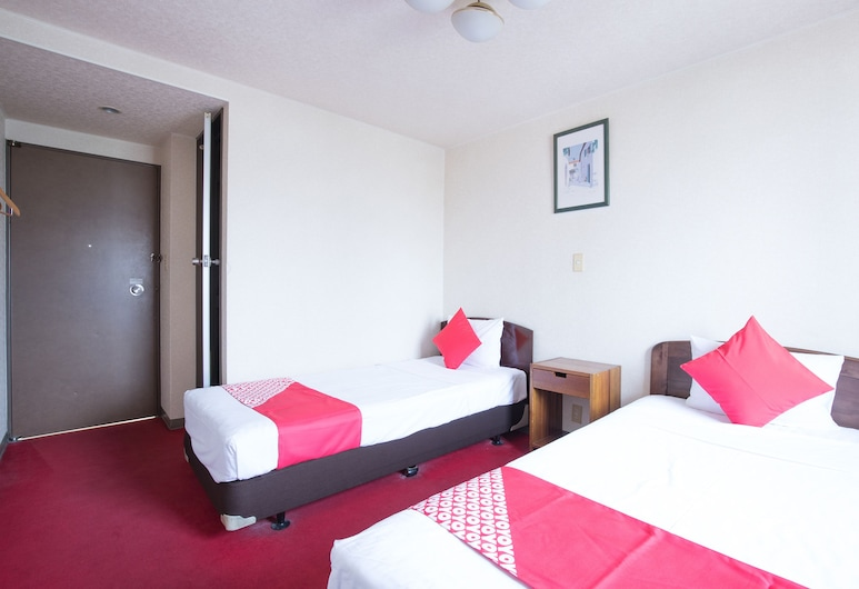 OYO Business Hotel Takizawa Takasaki Station West, Takasaki, Dvojlôžková izba, fajčiarska izba, Hosťovská izba