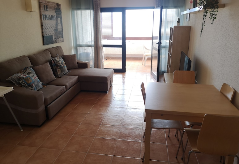 Arrecife Beach Front, Arrecife, Apartment, 1 Bedroom, Balcony, Living Room