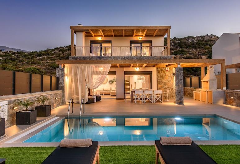 Villa Calma, Agios Nikolaos, Property Grounds
