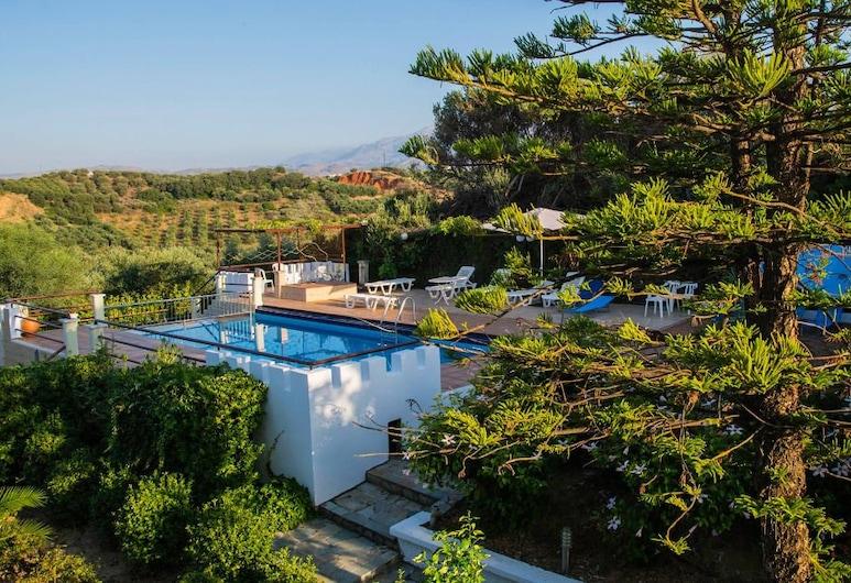 Villas Eva with Panoramic Sea view, La Canea, Exterior