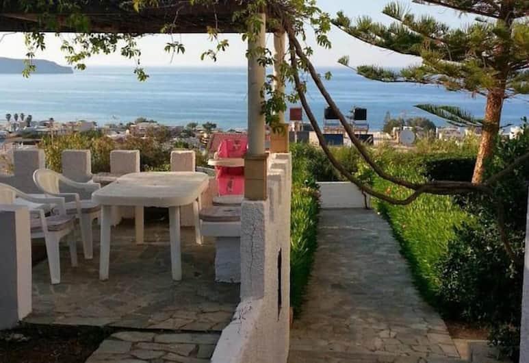 Βίλες Eva με πανοραμική θέα στη θάλασσα, Χανιά, Βίλα, 3 Υπνοδωμάτια, Πρόσβαση στην Πισίνα (Eva IV), Αίθριο/βεράντα