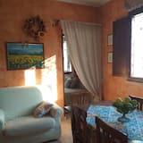 Nhà, 1 phòng ngủ, Sân hiên - Khu phòng khách