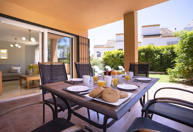 OleHolidays Fantástico Playa Alicate 50m playa, Marbella, Apartmán, 2 spálne, Terasa