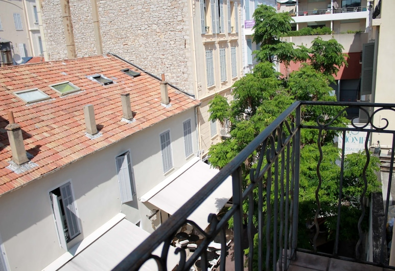 Studio Commandant André 22, Cannes, Comfort studio, Balkon