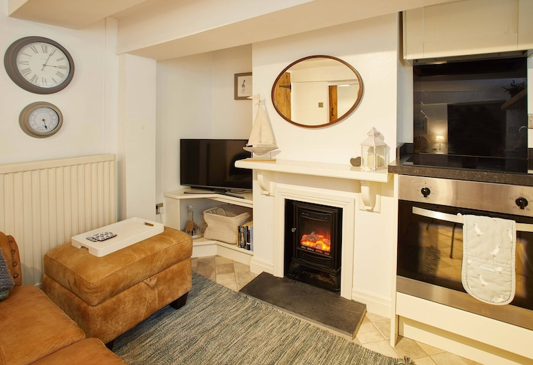 Duck Down Cottage, Whitby, One-Bedroom Cottage, Living Area