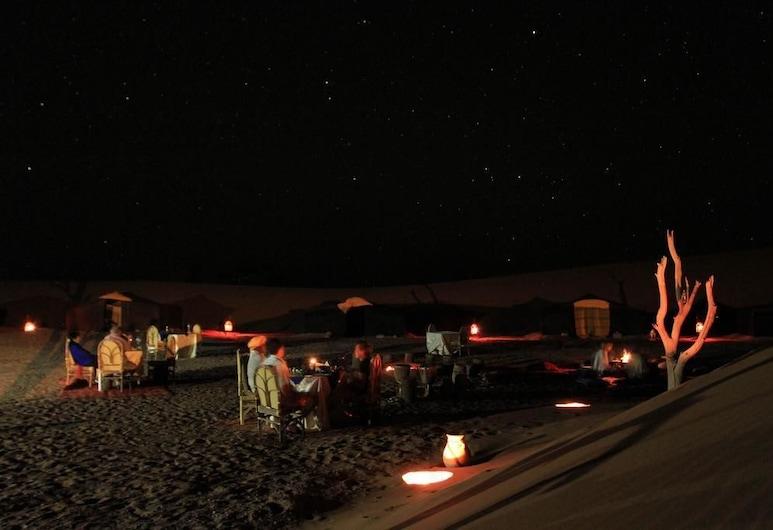 Atta Desert Camp, M'Hamid El Ghizlane, Terraza o patio