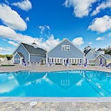 บ้านพัก, 2 ห้องนอน - สระว่ายน้ำ