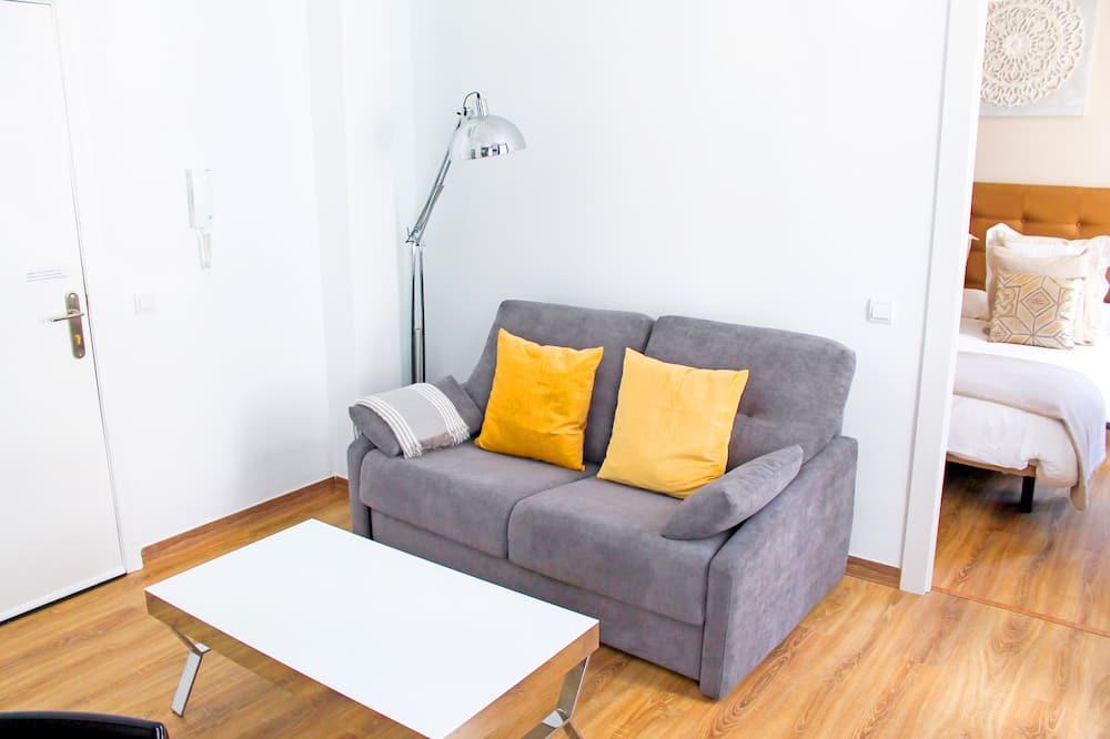 Apart Daire, 1 Yatak Odası, Balkon - Oturma Odası