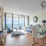 Apartamento, 2 habitaciones, balcón, vistas al mar - Sala de estar