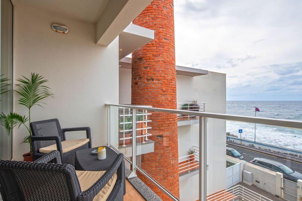 Apartamento, 2 habitaciones, balcón, vistas al mar - Balcón