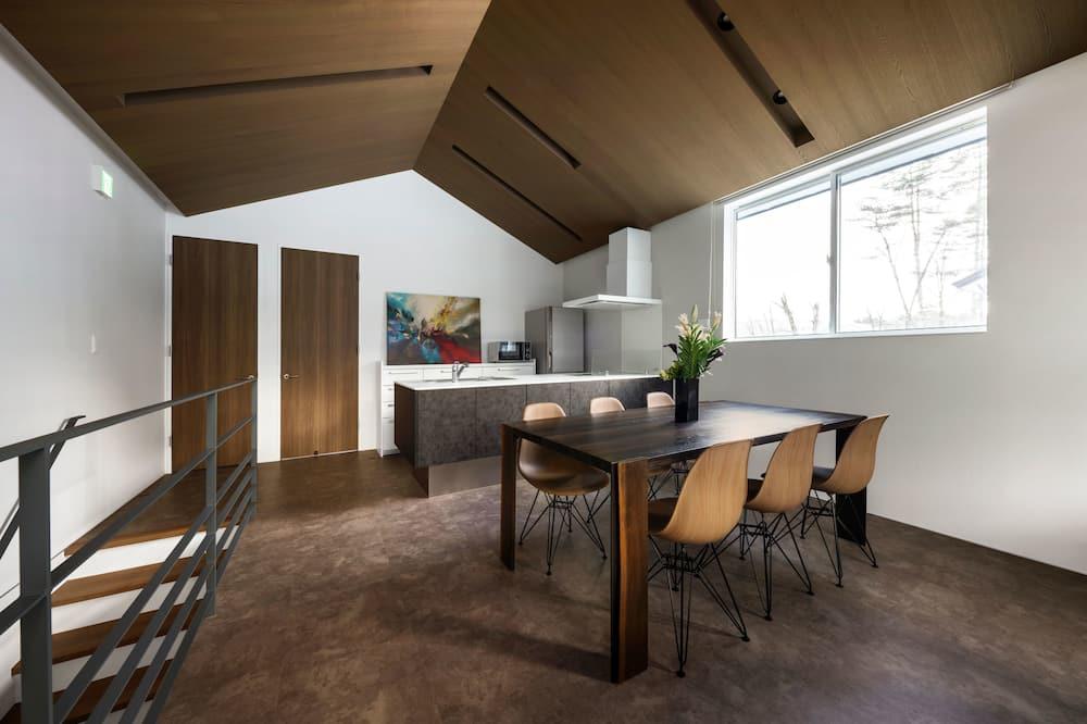 Chalet, 3 Bedrooms - Living Area
