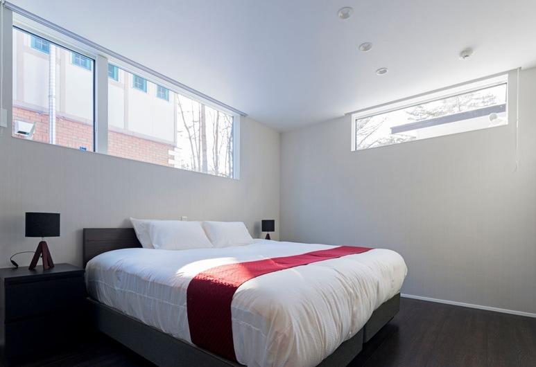 White Fox Chalet, האקובה, בקתה, 3 חדרי שינה (B), חדר