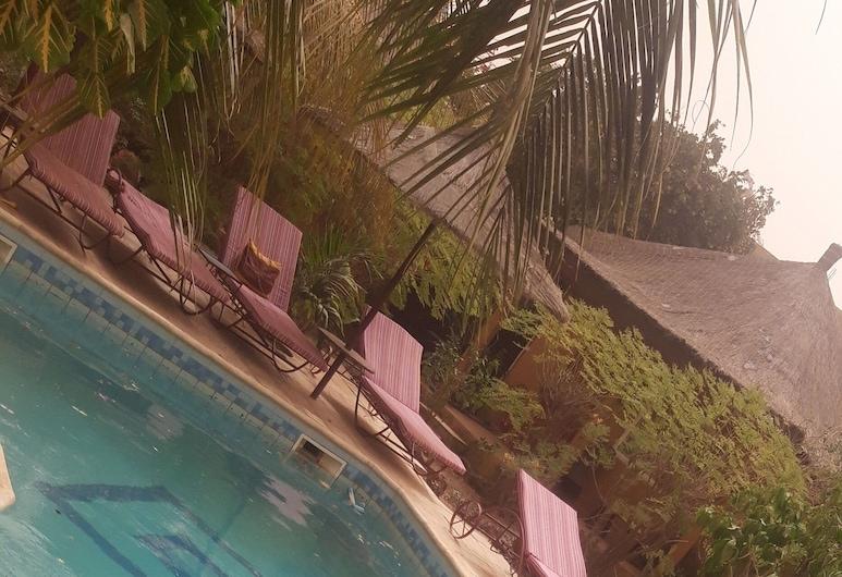 Auberge Le Dakan, Mbour, Outdoor Pool
