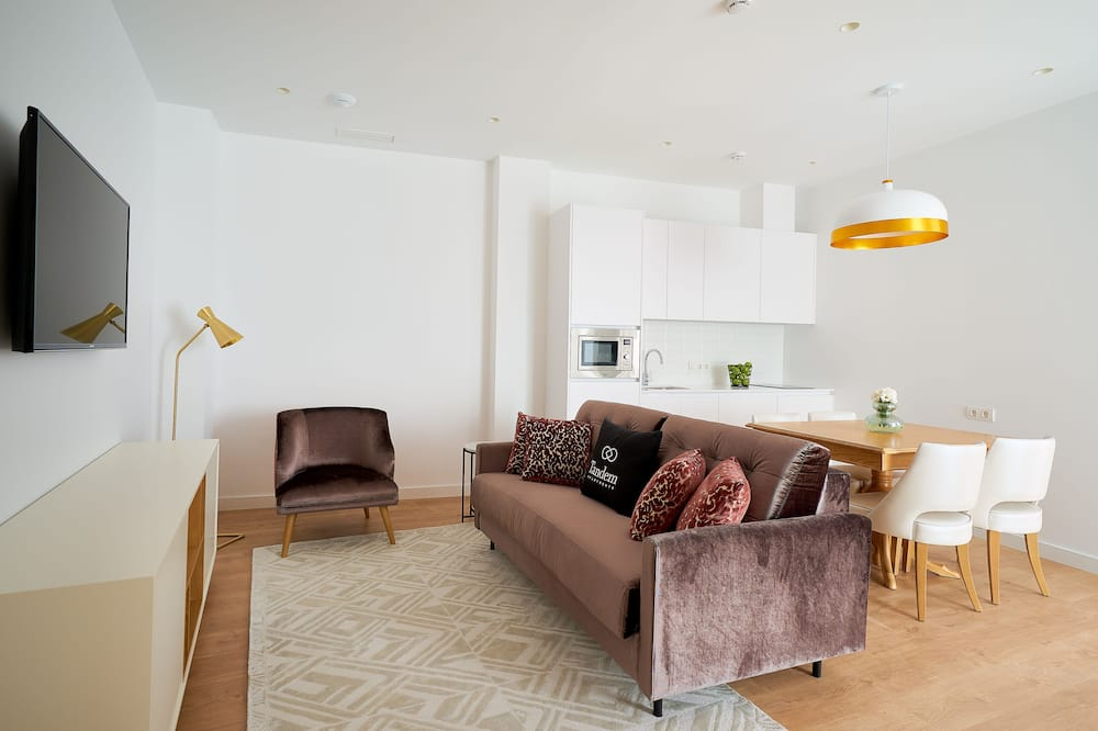 Appartement, 2 slaapkamers, terras ((6 personas)) - Woonruimte