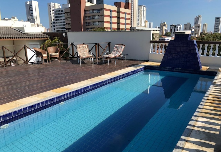 Angra Praia Hotel, Fortaleza, Εξωτερική πισίνα
