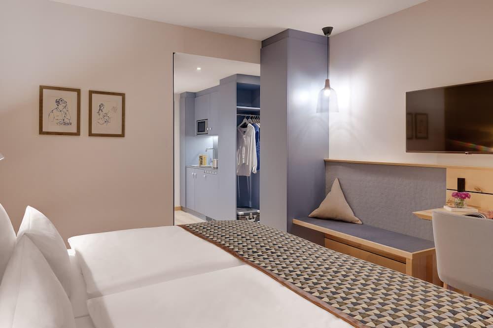 Premium tweepersoonskamer - Woonruimte