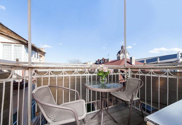 On the balcony near Deribasovskaya, Odessa, Apartment, Balcony