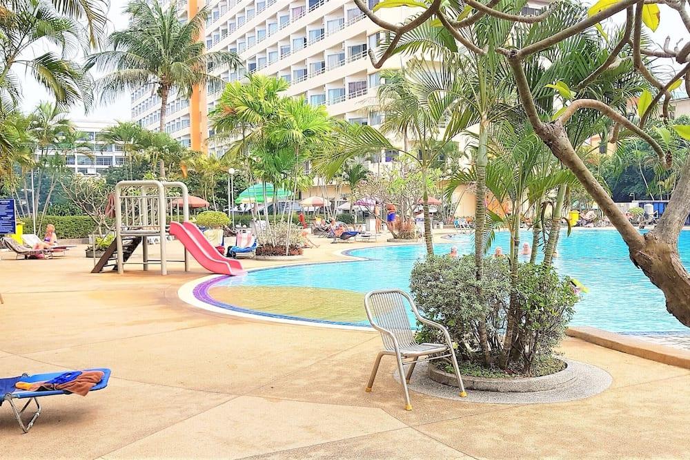 Lägenhet - 1 kingsize-säng - Pool