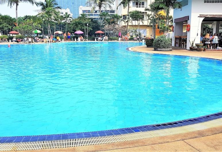 Sea Views With Rentbuythailand, Pattaya, Apartament, Łóżko king, Basen