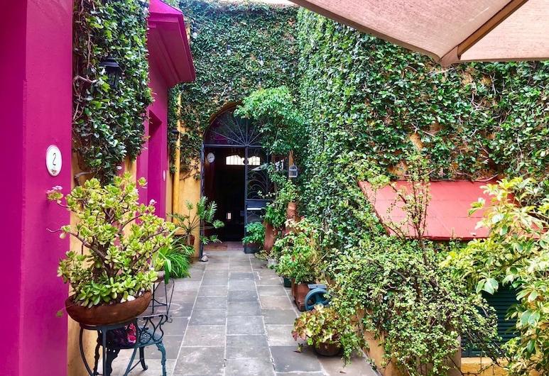 Hotel Pereyra, Oaxaca, Courtyard