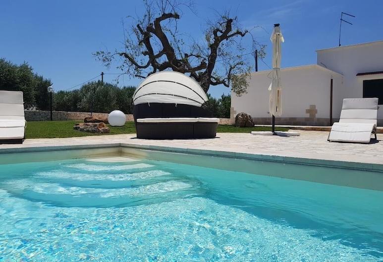 Villa Giordano, Ostuni, Venkovní bazén