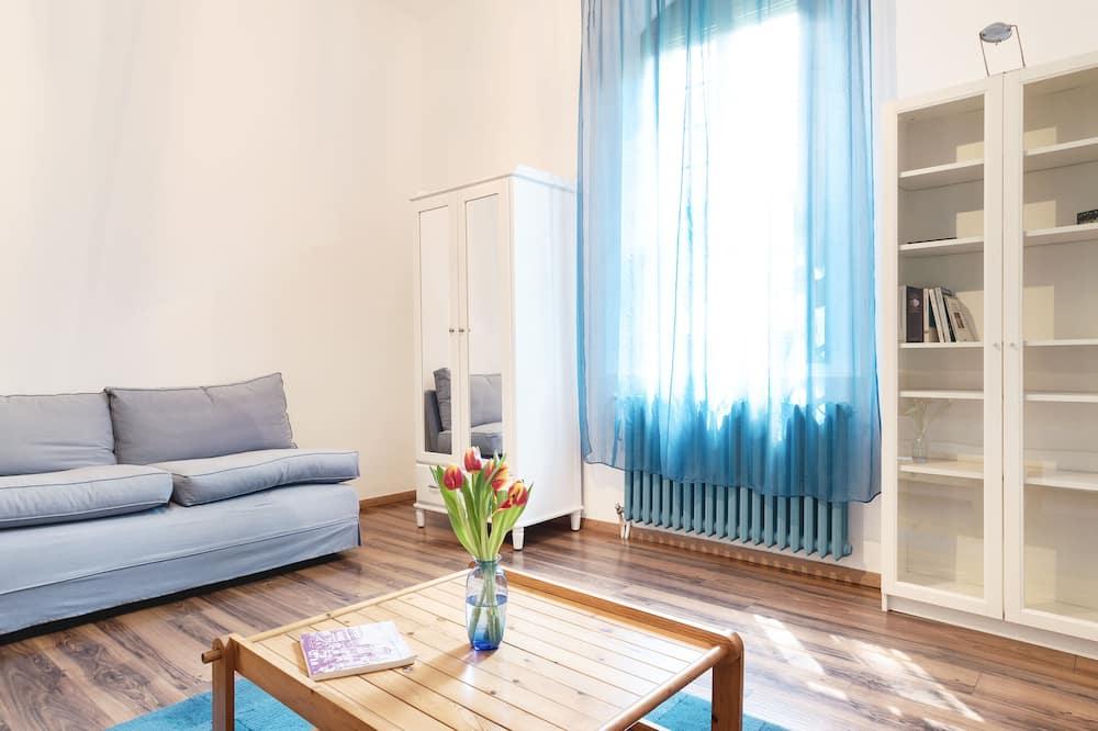 Apartament, 1 sypialnia, dla niepalących - Salon
