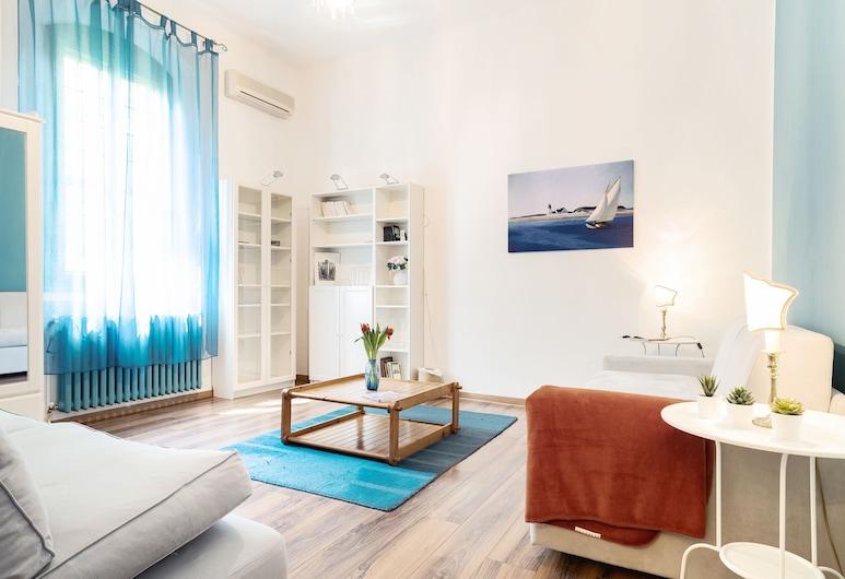 Bologna Zanolini Apartment, Bolonha, Apartamento, 1 Quarto, Não-fumadores, Área de Estar