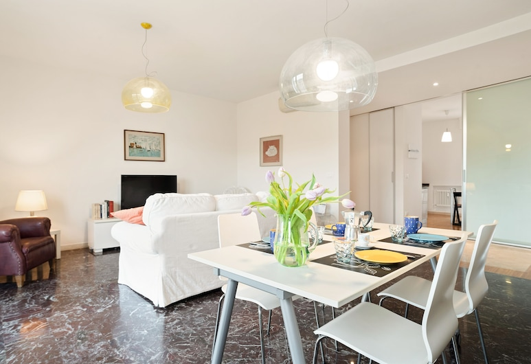 Porta San Felice e Paladozza Apartment, Bolonha, Apartamento, 2 Quartos, Área de Estar