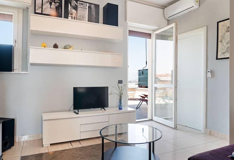 Bologna Railway Station Apartment, Bologna, Appartamento, 1 camera da letto, non fumatori, Area soggiorno