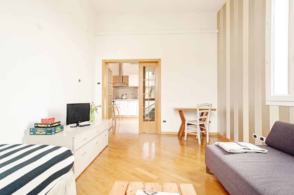 Appartamento, 1 camera da letto, non fumatori - Area soggiorno