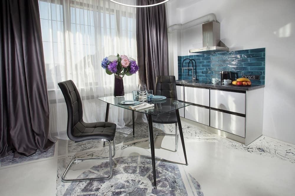 Apartmán typu Signature, balkón (London) - Obývacie priestory