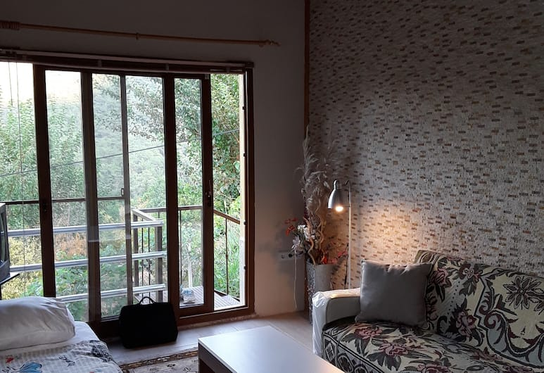 Waldvilla, Kumluca, Deluxe appartement, 1 slaapkamer, Kameruitzicht