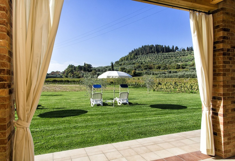 Agriturismo La Rocca, Bardolino, Deluxe-Doppel- oder -Zweibettzimmer, Terrasse, Annex, Terrasse/Patio