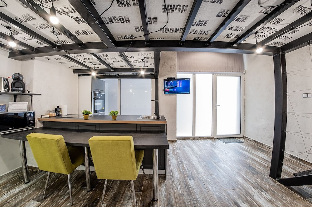 Sofia Penthouse Life Apartment - Living Room