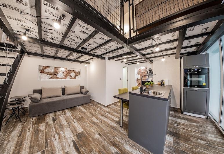 Sofia Life Apartments, Sofía, Sofia Penthouse Life Apartment, Sala de estar