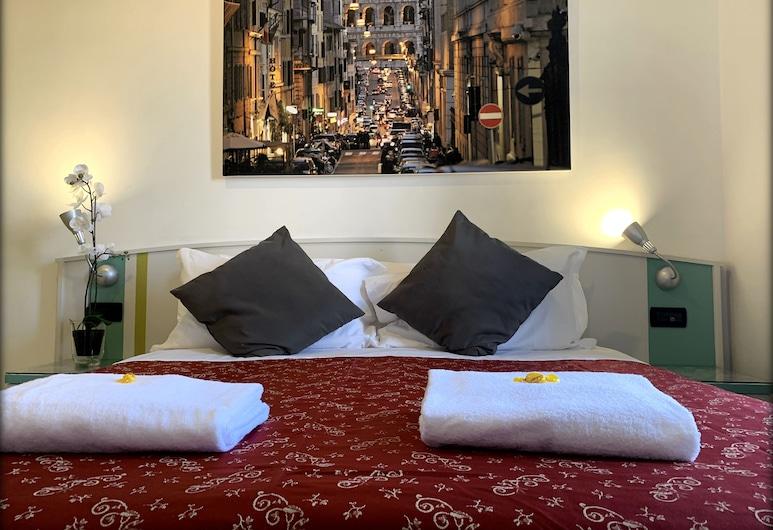 Hotel Dell'Urbe, רומא, חדר סטנדרט זוגי או טווין, חדר אורחים