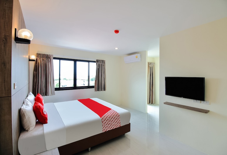 OYO 243 The All Residence, Pak Kret, Deluxe Double Room, Guest Room