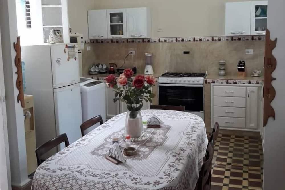 Quarto Duplo - Cozinha partilhada